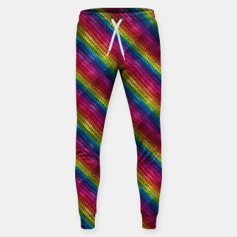 Thumbnail image of Rainbow Dragon Scales Sweatpants, Live Heroes