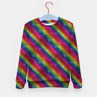 Imagen en miniatura de Rainbow Dragon Scales Kid's sweater, Live Heroes