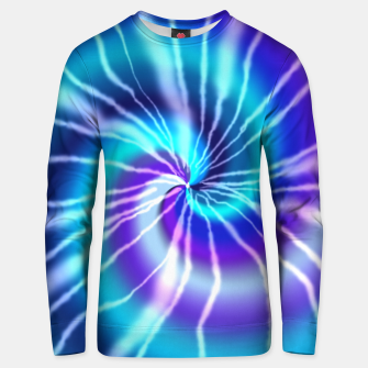 Thumbnail image of Blue Tie Dye Unisex sweater, Live Heroes