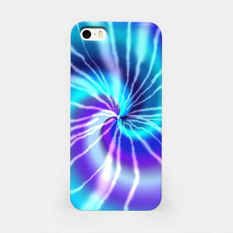 Miniaturka Blue Tie Dye iPhone Case, Live Heroes
