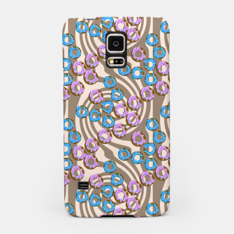 Miniatur Donuts Pattern Samsung Case, Live Heroes