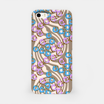 Miniatur Donuts Pattern iPhone Case, Live Heroes