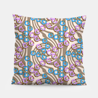 Miniatur Donuts Pattern Pillow, Live Heroes