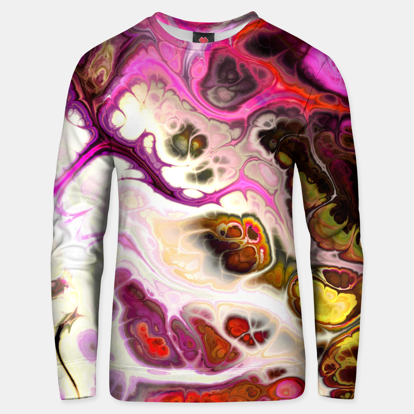 Image of Colorful Marble Design Unisex sweatshirt - Live Heroes