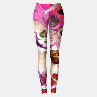 Miniature de image de Colorful Marble Design Leggings, Live Heroes