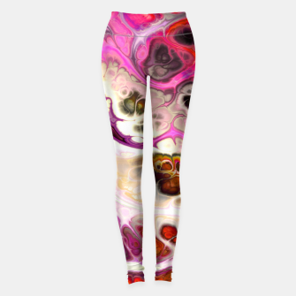Thumbnail image of Colorful Marble Design Leggings, Live Heroes
