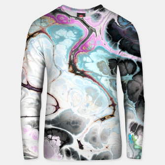 Thumbnail image of Colorful Marble Design Unisex sweatshirt, Live Heroes