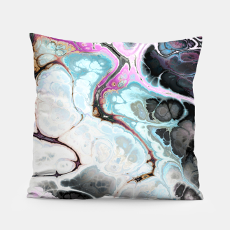 Thumbnail image of Colorful Marble Design Kissen, Live Heroes