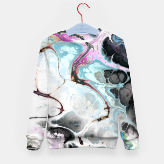 Thumbnail image of Colorful Marble Design Kindersweatshirt, Live Heroes