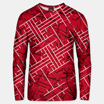Thumbnail image of White Maze Fiery Edition Unisex sweater, Live Heroes