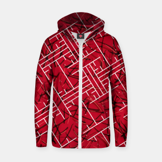 Miniature de image de White Maze Fiery Edition Zip up hoodie, Live Heroes