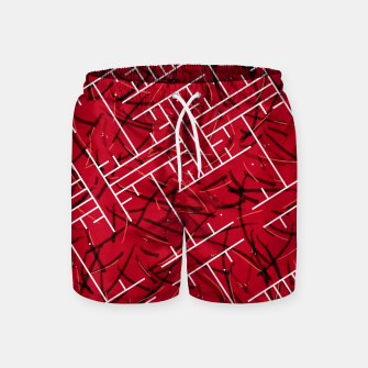 Thumbnail image of White Maze Fiery Edition Swim Shorts, Live Heroes