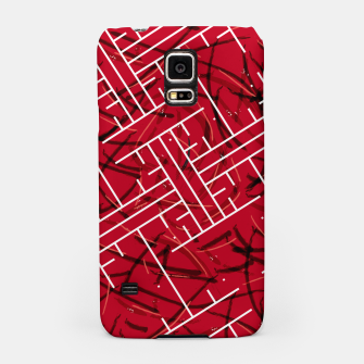 Miniatur White Maze Fiery Edition Samsung Case, Live Heroes