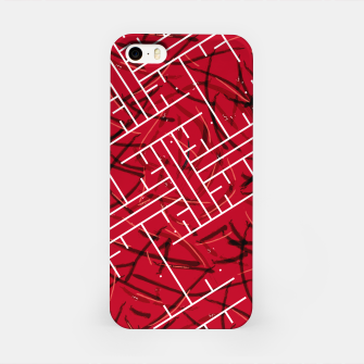 Miniaturka White Maze Fiery Edition iPhone Case, Live Heroes
