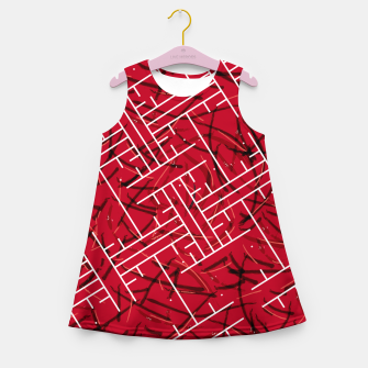 Thumbnail image of White Maze Fiery Edition Girl's summer dress, Live Heroes