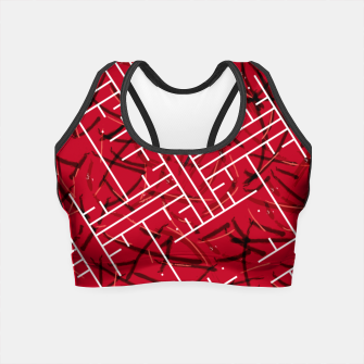 Miniature de image de White Maze Fiery Edition Crop Top, Live Heroes