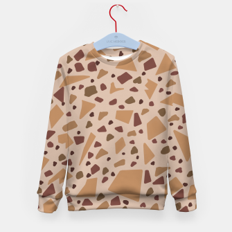 Thumbnail image of Jesmonite Terrazzo Being  Sudadera para niños, Live Heroes