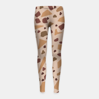 Miniature de image de Jesmonite Terrazzo Being  Leggings para niña, Live Heroes