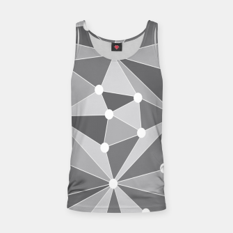 Imagen en miniatura de Abstract geometric pattern - gray and white. Tank Top, Live Heroes