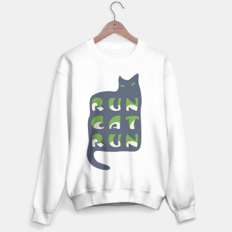 Thumbnail image of RunCatRun Hypno Cat Sweater regular, Live Heroes