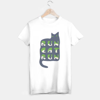 Thumbnail image of RunCatRun Hypno Cat T-shirt regular, Live Heroes