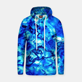 Miniature de image de Blue Water Abstract Hoodie, Live Heroes