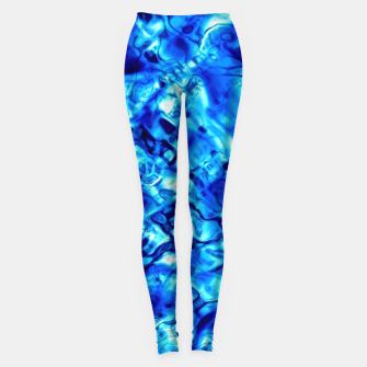 Miniature de image de Blue Water Abstract Leggings, Live Heroes