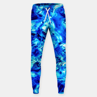 Thumbnail image of Blue Water Abstract Sweatpants, Live Heroes
