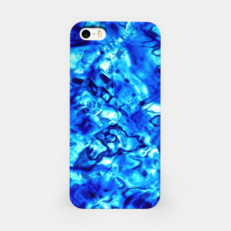 Miniaturka Blue Water Abstract iPhone Case, Live Heroes