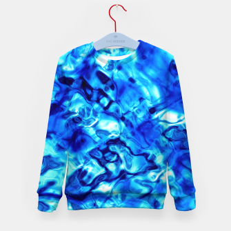Imagen en miniatura de Blue Water Abstract Kid's sweater, Live Heroes