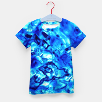 Thumbnail image of Blue Water Abstract Kid's t-shirt, Live Heroes