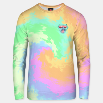 Thumbnail image of Psychedelic Cool Dog Unisex sweater, Live Heroes