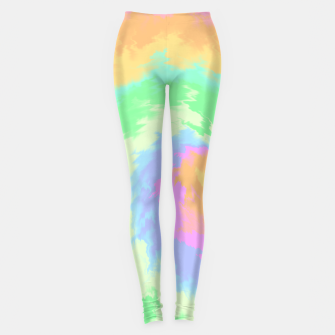 Miniatur Psychedelic Cool Dog Leggings, Live Heroes