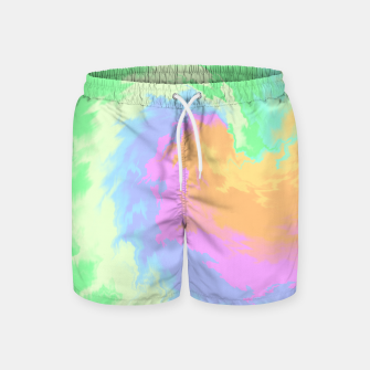 Miniatur Psychedelic Cool Dog Swim Shorts, Live Heroes