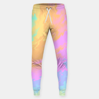 Miniatur Psychedelic Cool Dog Sweatpants, Live Heroes