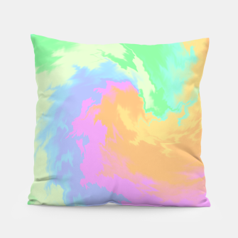 Miniatur Psychedelic Cool Dog Pillow, Live Heroes
