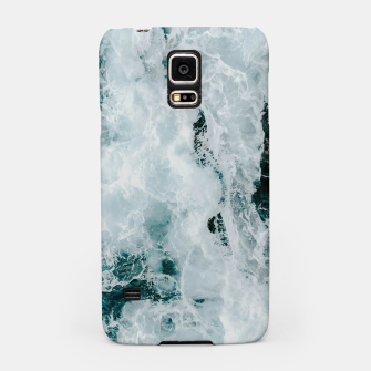Thumbnail image of ocean waves Samsung Case, Live Heroes