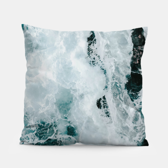 Miniaturka ocean waves Pillow, Live Heroes