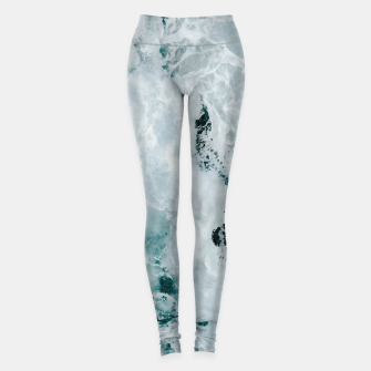 Miniaturka ocean waves Leggings, Live Heroes