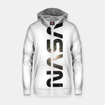 Miniature de image de nasa Zip up hoodie, Live Heroes