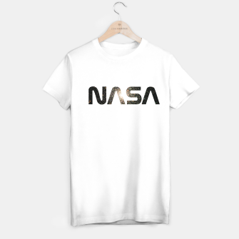 Miniatur nasa T-shirt regular, Live Heroes