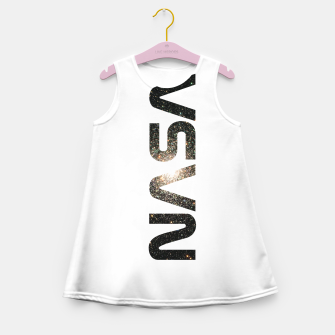 nasa Girl's summer dress obraz miniatury