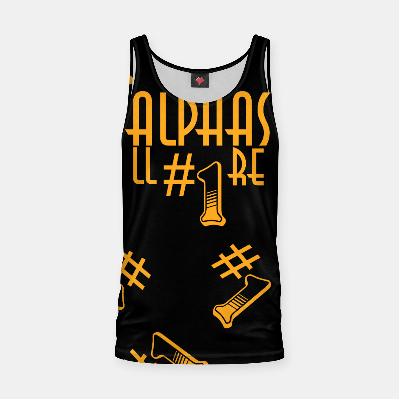 Zdjęcie All Alphas Are #1 Tank Top - Live Heroes
