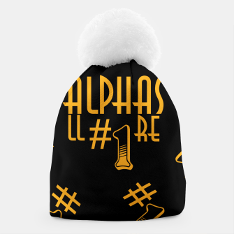 All Alphas Are #1 Beanie obraz miniatury