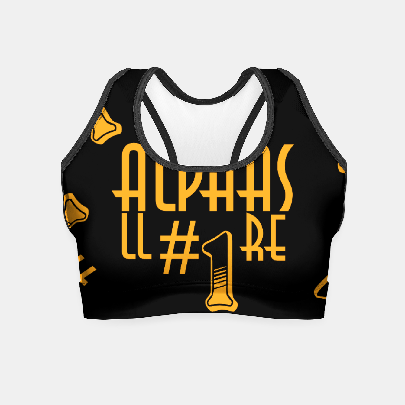 Zdjęcie All Alphas Are #1 Crop Top - Live Heroes