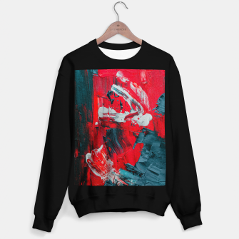 Miniatur paint splatter Sweater regular, Live Heroes