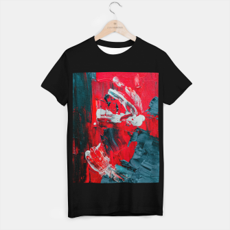 Miniaturka paint splatter T-shirt regular, Live Heroes