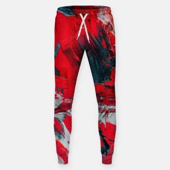 Miniatur paint splatter Sweatpants, Live Heroes