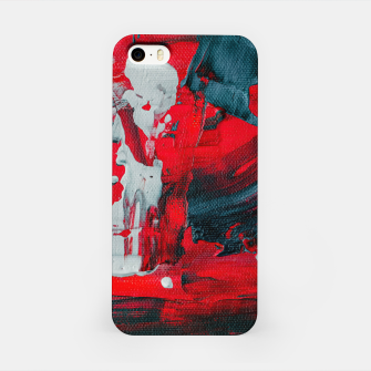 Miniaturka paint splatter iPhone Case, Live Heroes