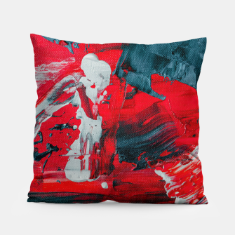 Miniatur paint splatter Pillow, Live Heroes